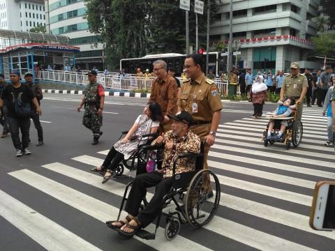 TransJakarta Bakal Perbanyak Halte Ramah Disabilitas