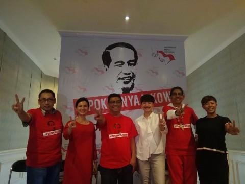 Dira Sugandi, Wanda Hamidah dan Sejumlah Artis Deklarasi Kampanye