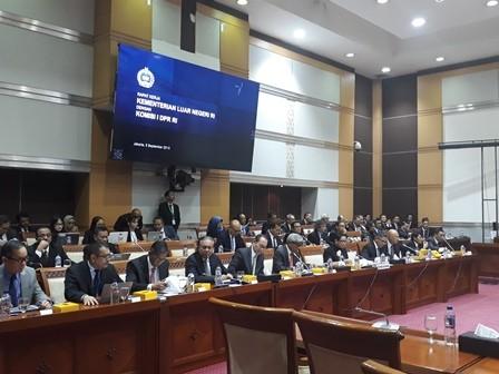Komisi I Setujui Pagu Anggaran Kemenlu RP7,8 T Tahun Depan