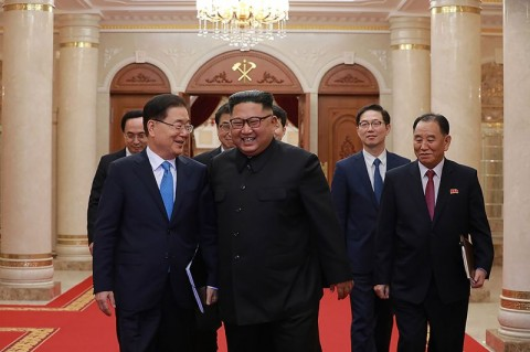 Kim Jong-un Sampaikan Kembali Komitmen Denuklirisasi Korut