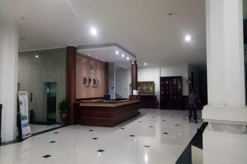 Suasana di DPRD Kota Malang setelah KPK menahan 41 anggota dewan, Selasa, 4 September 2018, Medcom.id - Daviq Umar
