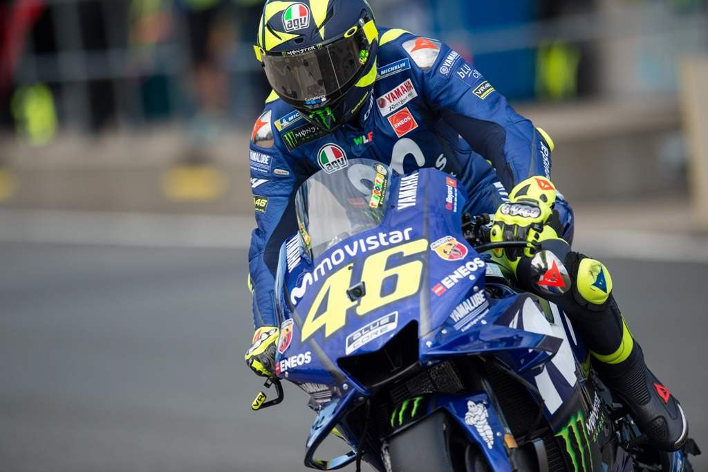 Valentino Rossi. (Photo by OLI SCARFF / AFP)