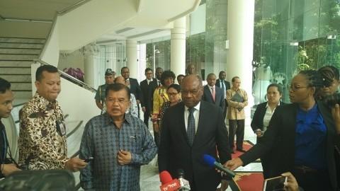 Kalla Terima Kunjungan Bersejarah Deputi PM Kongo