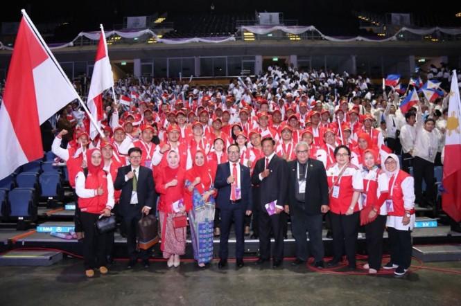 ASEAN Skills Competition 2018 di Bangkok. (Foto: Dok. KBRI Bangkok).