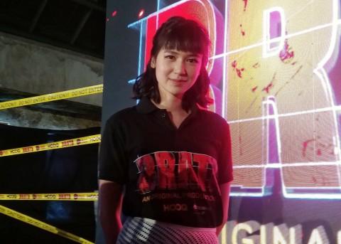 Laura Basuki Nikmati Adegan Berdarah-darah dalam Serial Brata