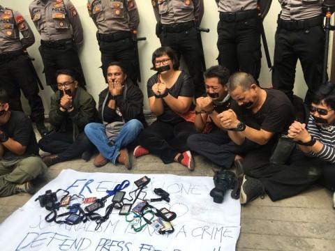 Jurnalis Indonesia Tuntut Pembebasan 2 Wartawan Myanmar