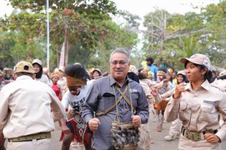Peserta Kirab Pemuda jadi Promotor Budaya