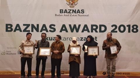Baznas Beri Penghargaan ke Metro TV