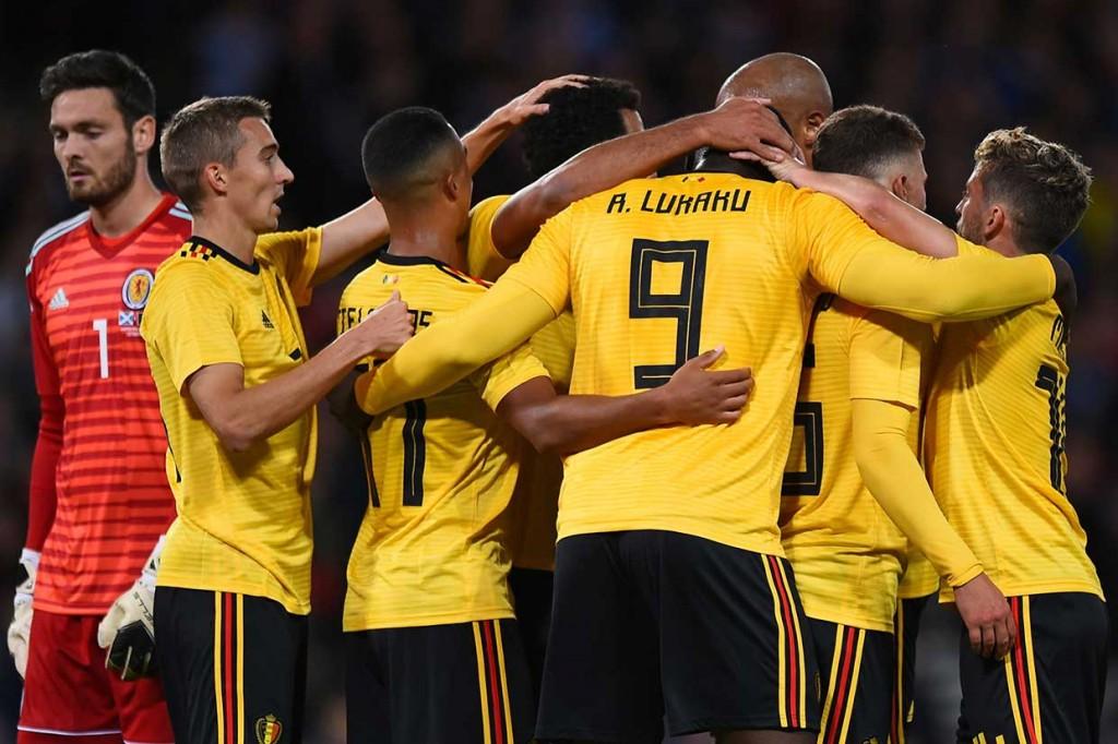 Belgia Lumat Skotlandia 4-0