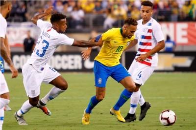 Timnas Brasil Masih Terlalu Kuat untuk Amerika Serikat