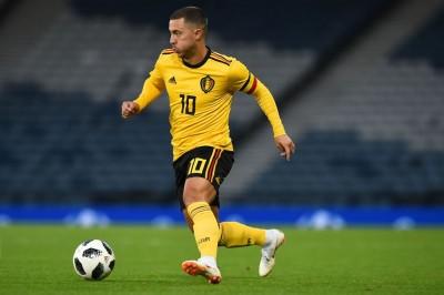 Eden Hazard Kunci Kemenangan Belgia atas Skotlandia