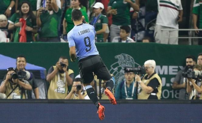 Luis Suarez (Foto: Bob Levey/ AFP)