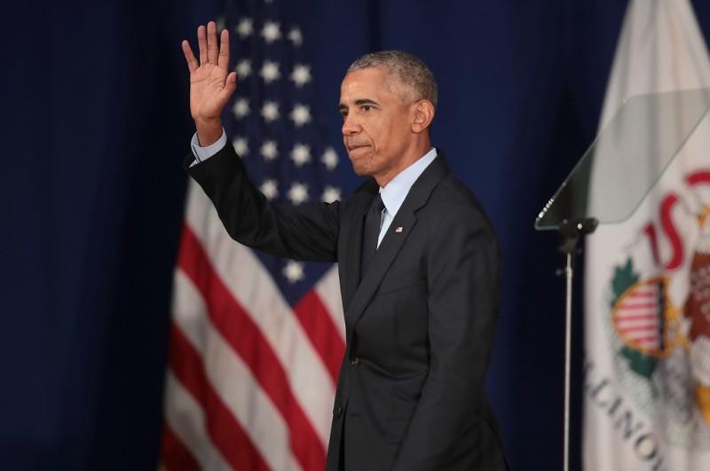 Barack Obama dalam acara di Illinois, AS, 7 September 2018. (Foto: AFP/Getty/SCOTT OLSON)