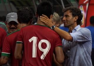 Luis Milla Tetap Bantu Timnas Indonesia Hadapi Mauritius