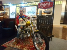 Jokowi Jadi Bikers Bantu Angkat Custom Culture