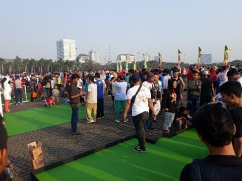 Antusiasme Warga Mengikuti Festival Jakarta Sehat 2018