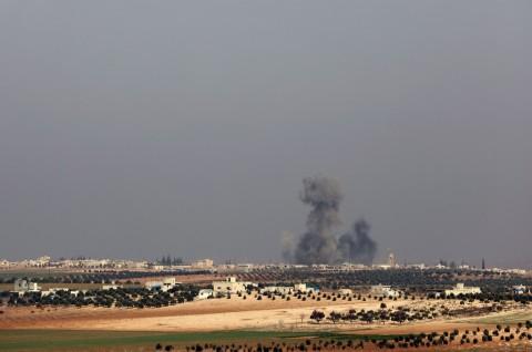 Suriah dan Rusia Gempur Habis-habisan Provinsi Idlib