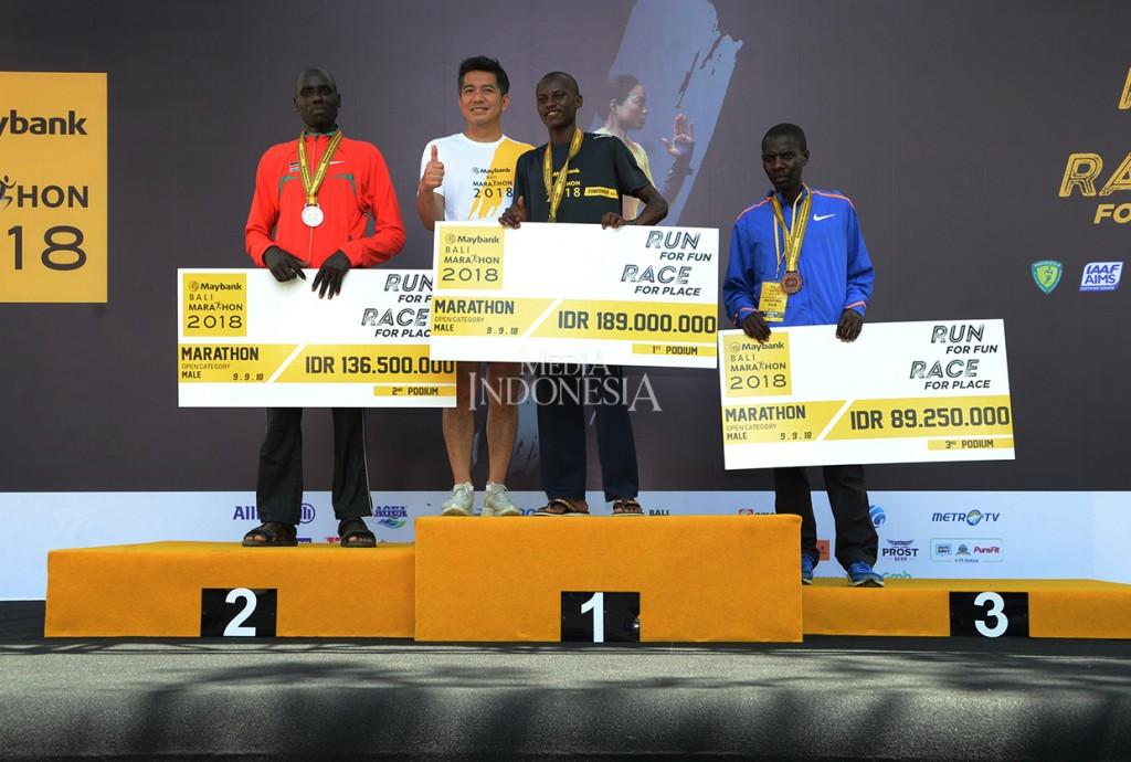 Pelari Kenya Juarai Maybank Bali Marathon 2018