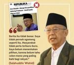 Gus Sholah Bantah Mendukung Prabowo