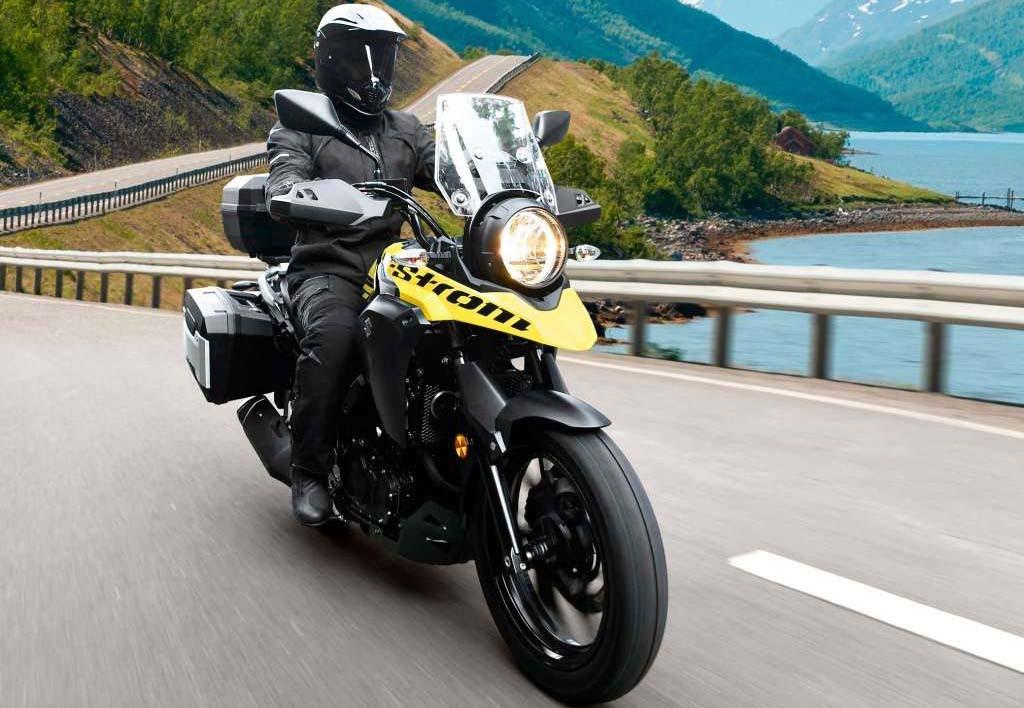 Suzuki V-Strom 250 masih jauh dari Indonesia. Total Motorcycle
