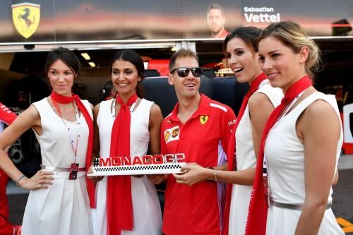 Ilustrasi Grid Girls di F1. (Foto: AFP/Andrej Isakovic)