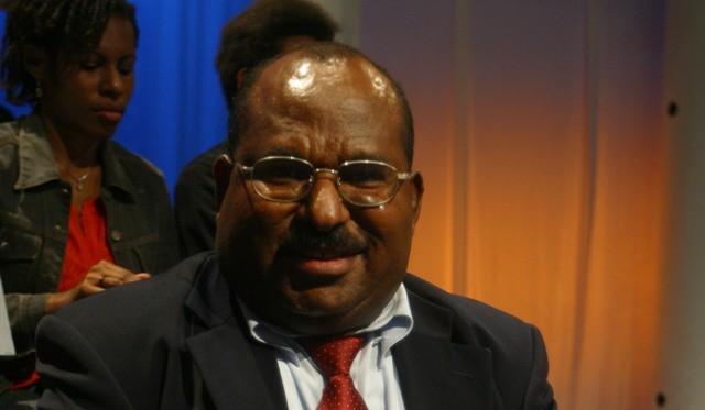 Papua Governor Lukas Enembe (Photo:MI/M Irfan)