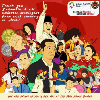 Kesuksesan Asian Games Bukti Nyata Revolusi Mental