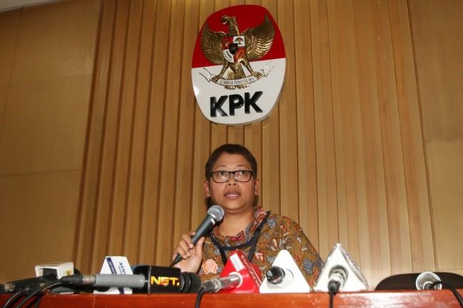 Kepala Bagian Pemberitaan dan Publikasi KPK Yuyuk Andriati. (Foto: ANTARA/ Rivan Awal Lingga)