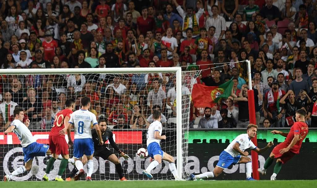 Portugal vs Italia (Foto : AFP/FRANCISCO LEONG )