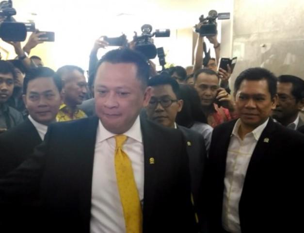 Ketua DPR Bambang Soesatyo--Medcom.id/Ilham Wibowo