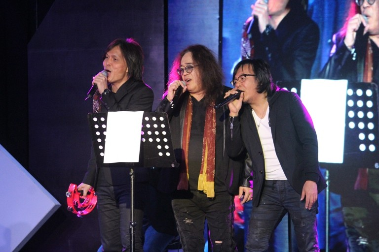 Concert with Once, Ari Lasso and LiLo member of KLa Project (Foto: dok. eka kreasi)