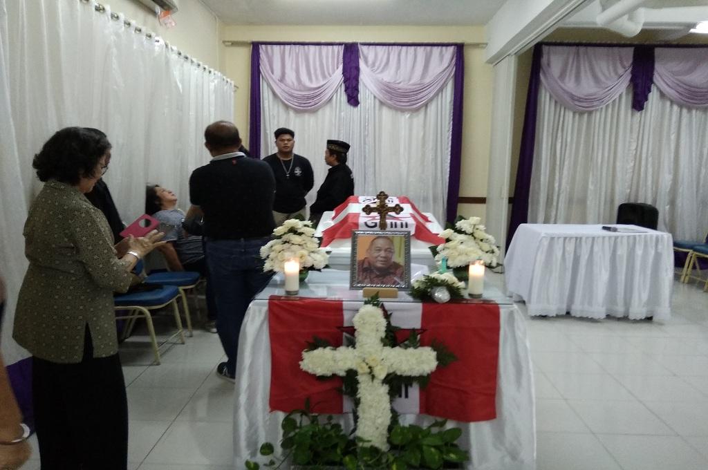 Suasana Rumah Duka di RS Elisabeth, Kota Bekasi, Jawa Barat, Selasa 11 September 2018, Medcom.id - Antonio