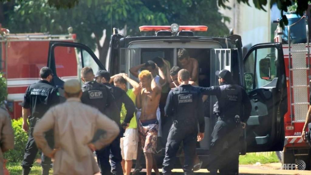 Narapidana kabur dari penjara Brasil. (Foto: AFP).