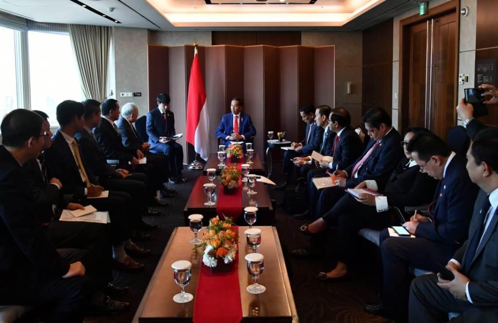 Presiden Joko Widodo saat melakukan kunjungan kenegaraan di Korea Selatan (Foto: Sekretariat Presiden)