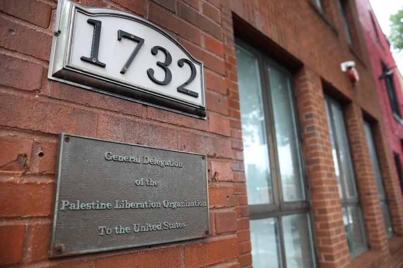 Organisasi Pembebasan Palestina (PLO) di Washington DC. (Foto: AFP)
