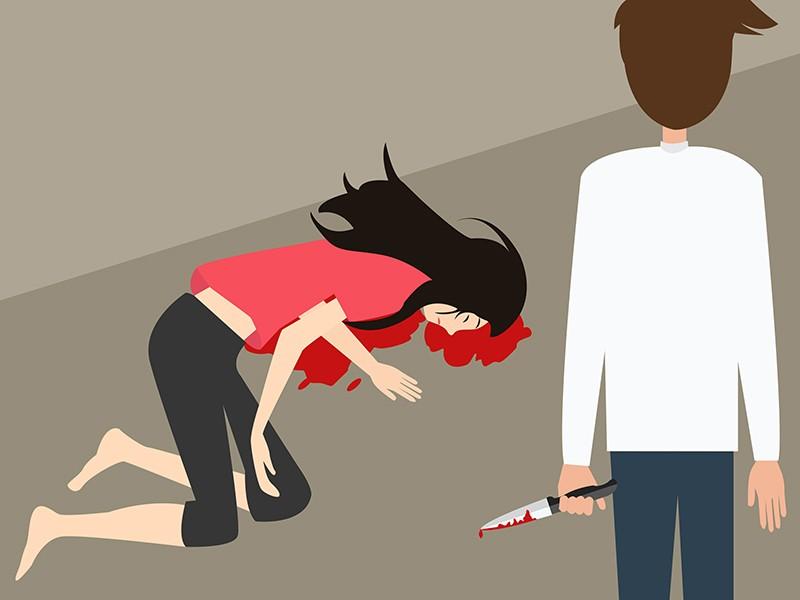 Pembunuhan wanita. Ilustrasi: Medcom.id/Rakhmat Riyandi.