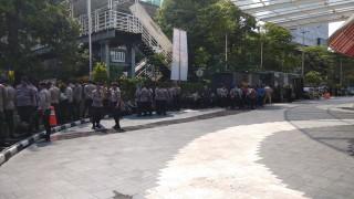 Demo Transportasi Daring Dikawal 300 Polisi