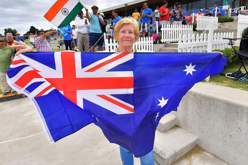 Bendera Australia. (Foto: AFP).
