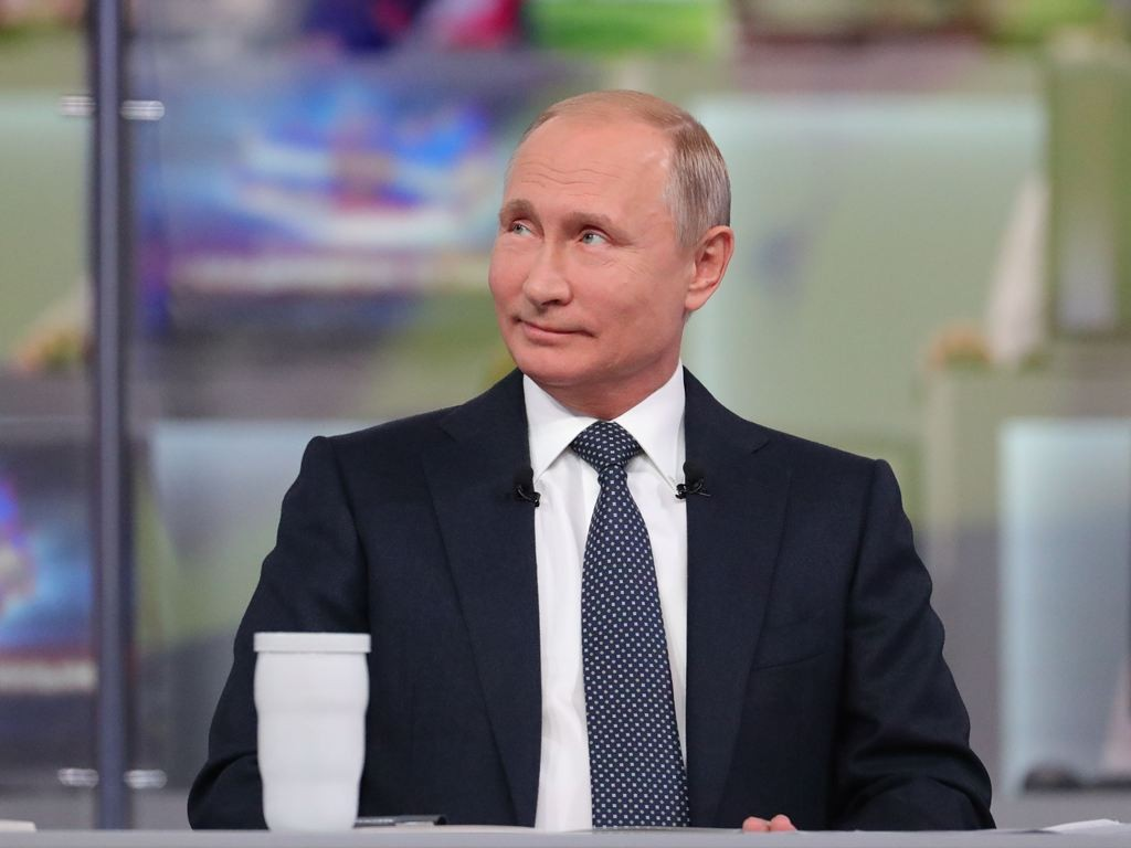 Presiden Rusia Vladimir Putin. (Foto: AFP).