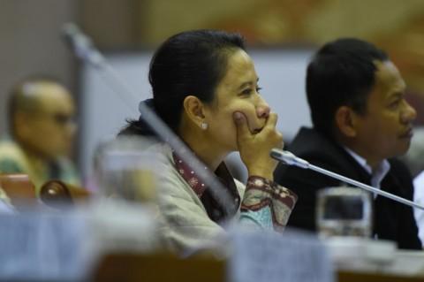 Menteri BUMN Rini Soemarno. ANT/Hafidz Mubarak A.