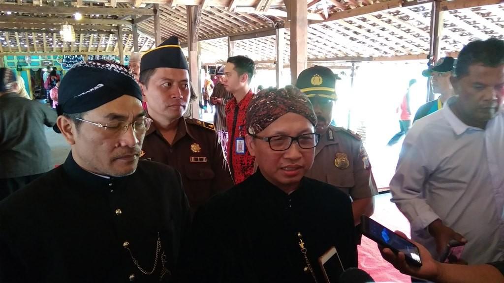 Sekretaris Jenderal Kementerian Desa, Pembangunan Daerah Tertinggal, dan Transmigrasi, Anwar Sanusi. (Medcom.id-Ahmad Mustaqim)