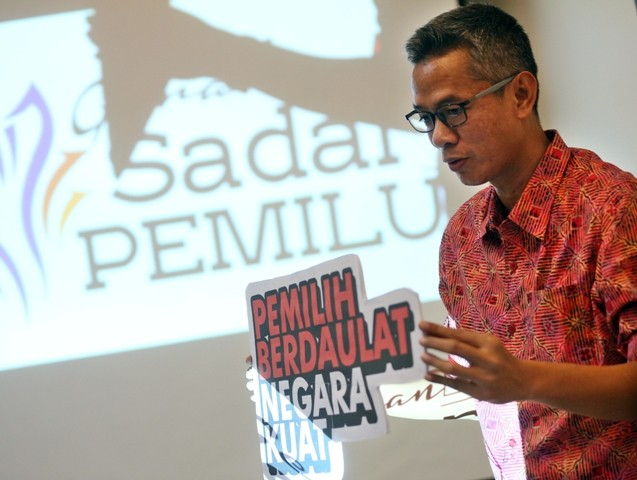Komisioner KPU RI Wahyu Setiawan. Foto: MI/Ramdani.