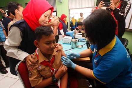 Program Imunisasi MR Terancam Gagal
