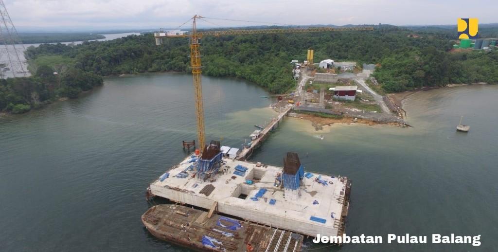 Jembatan Pulau balang. Foto: Istimewa