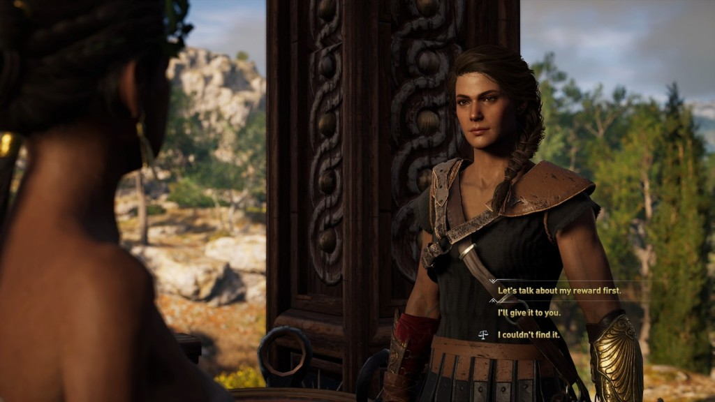 Gameplay di Assassin;s Creed Odyssey.