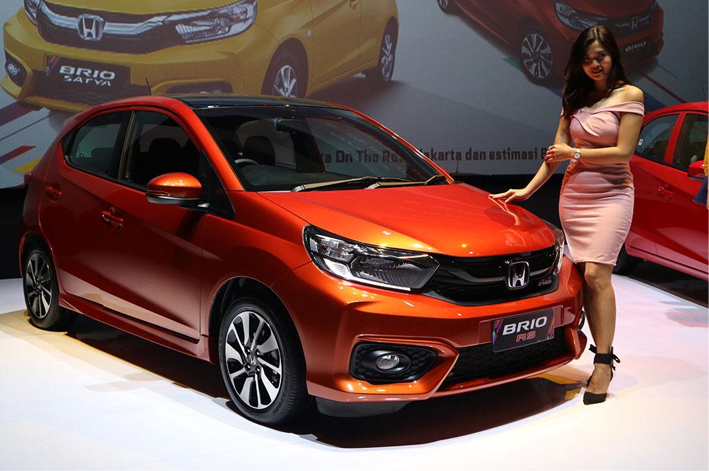 Honda memperluas kabin dan bagasi All New Honda Brio. Medcom.id/Ekawan Raharja