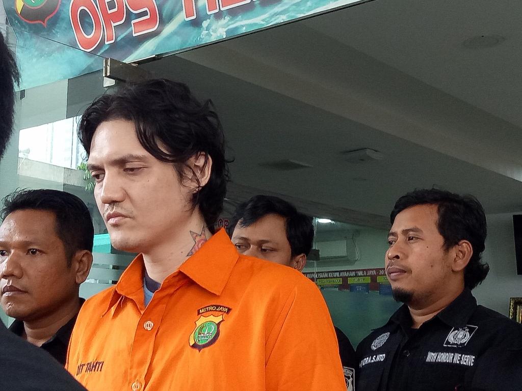 Ozzy Albar, putra vokalis God Bless Ahmad Albar. Foto: Medcom.id/Siti Yona Hukmana.