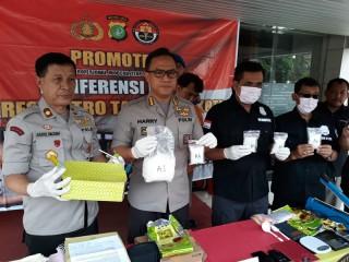Pengedar Sabu Jaringan Tangerang-Jakarta Ditangkap