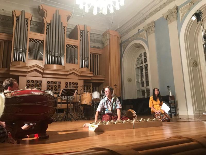 Matej Divis menyelenggarakan konser tunggal pertunjukan musiknya di Praha. (Foto: Dok.KBRI Praha).