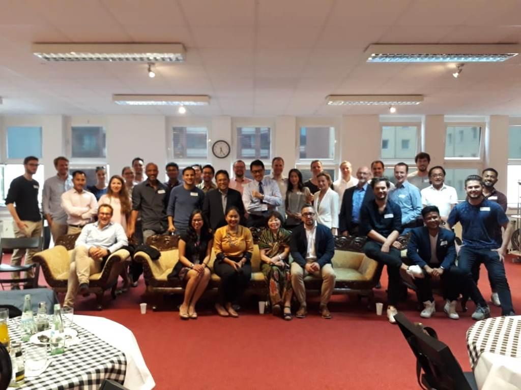 Peserta Indonesia-Germany Start Up Gathering di Berlin. (Foto: Dok. KBRI Berlin).